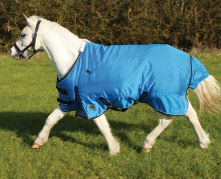 Mark Todd Pony Turnout 0g Standard Neck Ocean Blue
